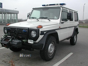 Mercedes Benz 280 GE Military-Police 4x4
